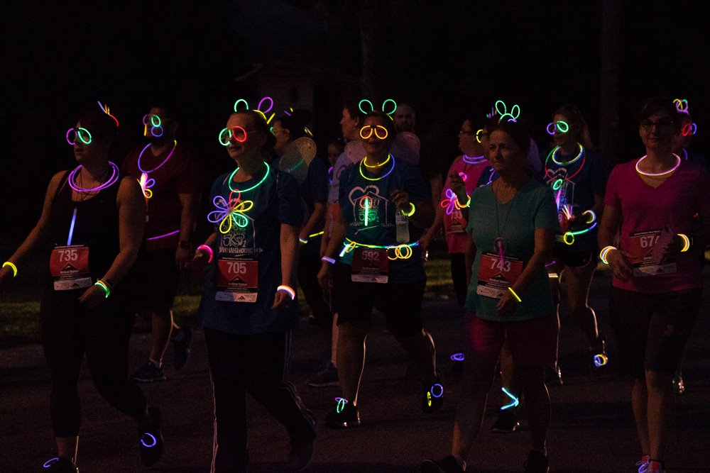 3rd Annual Being a Light in the Darkness Night Glow Run/Walk 5k